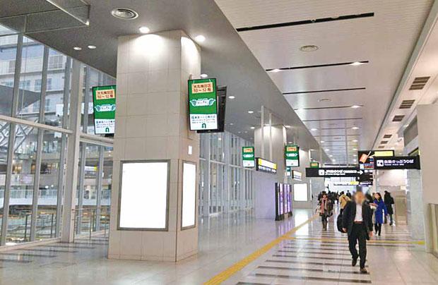 大阪駅橋上自由通路1 6 面セット