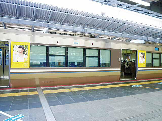 車体ステッカー阪和・関空線( 旧名称:車体ラージステッカー 阪和線・関西空港線)