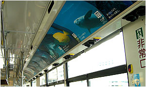 バス車内B3シート(ラッピングバス・オプション)